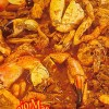 Food Crabs In Tomaro Sauce