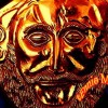 Micem Golden Mask Of  Agamemnon