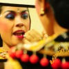 Legong Dancer Making Up