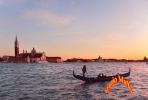 Twilight Of Venetian Lagoon