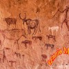 Sahara Rock Painting
