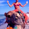 Girl On The Camel