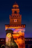 Sforza Castle Sound and light show on Leonardo